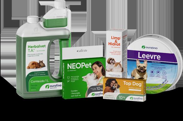 Produtos Linha Proteção Ourofino Saúde Animal